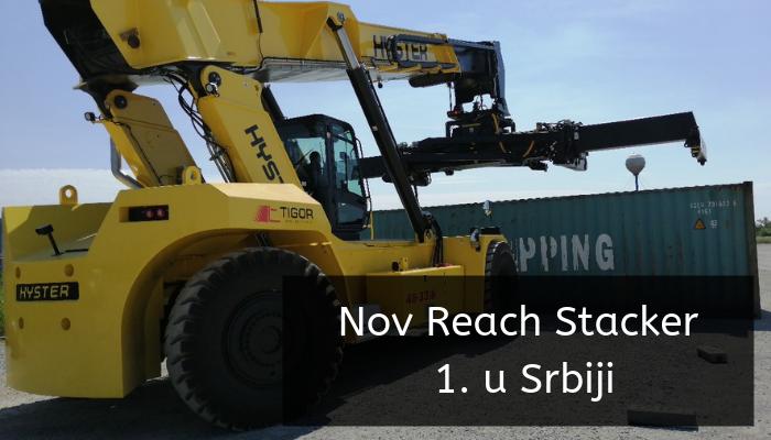 Nov Reach Stacker 1. u Srbiji