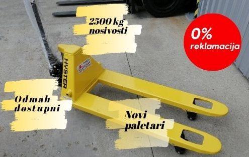 paletar 2500 kg nosivosti