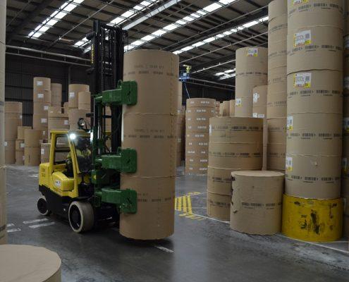 viljuškar za papirnu industriju