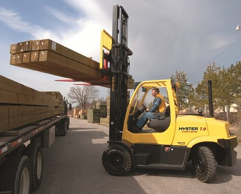 hyster viljuškar za drvnu industriju